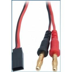 LRP 65824 Cable carga RX Sanwa/Graupner/JR 50cm.