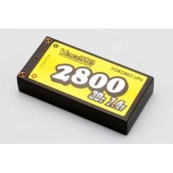 YOKOMO YB-P228BE Lipo 2800mAh/7.4V Battery