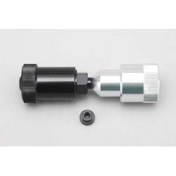 F1 Tire Setter Hub (w/YRF-001 F wheel adaptor /Aluminum, 1set)