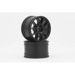 YOKOMO GT-29E2 ENKEI-2 Front Wheel for GT series(Black 2pcs)