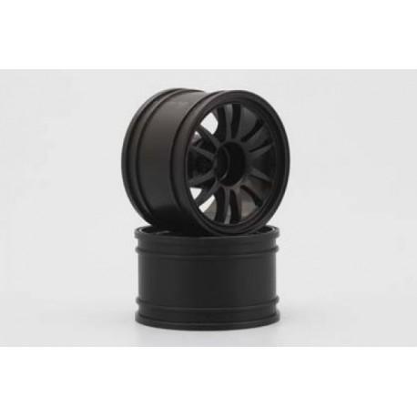 YOKOMO GT-30E ENKEI Rear Wheel for GT500 (Black 2pcs)