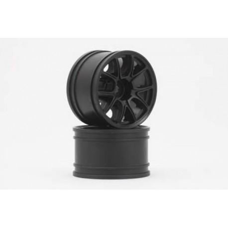 YOKOMO GT-30E2 ENKEI-2 Rear Wheel for GT series (Black 2pcs)