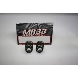 MR33-Spring B MR33 Ride Spring Black Extra Hard, extra hard pro matched, (2pcs), MOQ 10