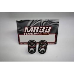 MR33-Spring R MR33 Ride Spring Red Medium, medium pro matched, (2pcs), MOQ 10
