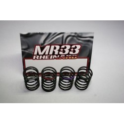 MR33-Spring Set MR33 Ride Spring Set, pro matched, 4 different types, Soft-Medium-Hard-Extra Hard