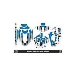 MR33 Radio Skin for Sanwa M12 Marc Rheinard Edition Blue