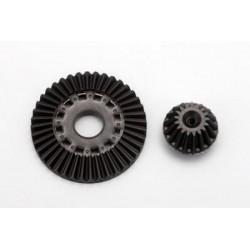 YOKOMO SD-503 Differential Ring Gear/Drive Gear Set (Graphite) RF CONCEPT