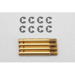 B7-S5NT Shock shaft for SLF normal shock (Titanium coat/4pcs)