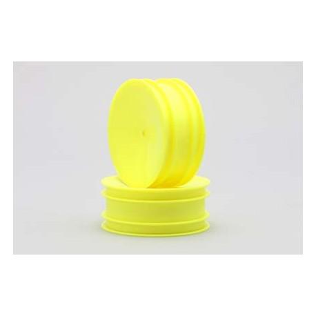 Hex hub front wheel (Yellow)