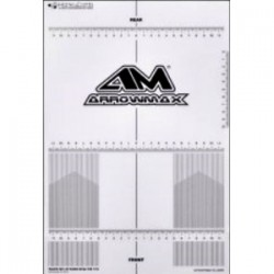 Arrowmax  Plastic Set-up Board Decal for 1/10