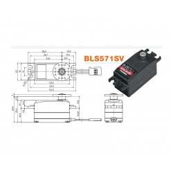 FUTABA BLS571SV LOW PROFILE SERVO