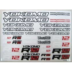 YOKOMO ZC- R12-1 R12 DECAL