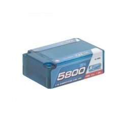 LRP LiPo 1/10 Competition Car Line Saddle Pack Hardcase 5800 - 110C/55C - 7.4V