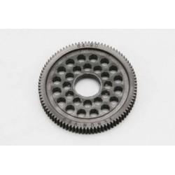 YOKOMO R12- 6490 64Pitch Precision Spur Gear for YOKOMO R12(Black)