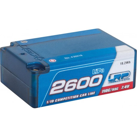 LRP 430218 2600 - Super Shorty - 110C/55C - 7.4V