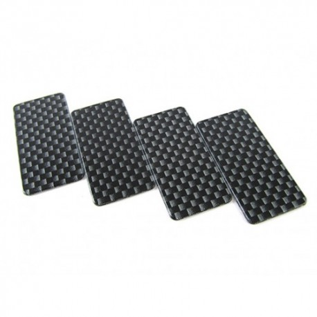 RIDE RI-27012 Ride Carbon Printed Side Dam 4 Pcs (with Double-side tape)