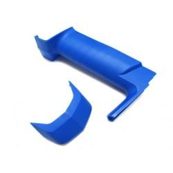 SANWA 191A04206A M12 Grip L-Set (Blue)