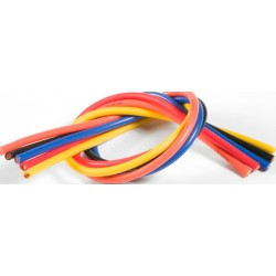 TQ RACING CABLE PURO SILICONA 10-11AWG SET 5 CABLES