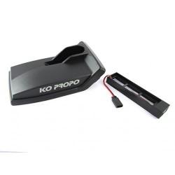 KO PROPO 10546 Base de emisora para bateria Li-fe 6.6v 2S (87x30x18mm)
