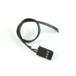 Roche  Futaba Servo Wires with Golden Connector Black
