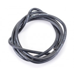 CORE RC CR287 Silicone Wire Black 14 AWG - 1Mtr