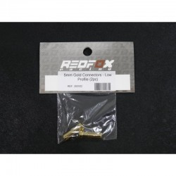 REDFOX 260502 Conector Gold low profile 5mm (2 pcs)