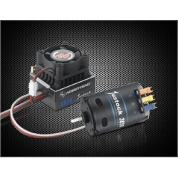 HOBBYWING 38020400 COMBO-XR10-JS-Black 10.5T STOCK