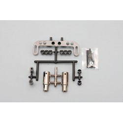 YOKOMO SD- ACMG Muffler Set - Gun Metal