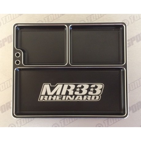 MR33 MR33- LAPT Luxury Aluminum Part Tray - Black