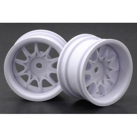 RIDE RI- RH-1236W Mini 10 Spoke Wheel Wide Offset - White