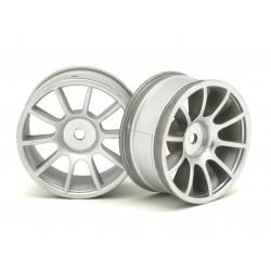 RIDE 25007 1/10 M-Chassis 47, 10 Spoke Wheels matte Silver