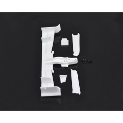 SERPENT 411352 Front Wing Black F110 SF2
