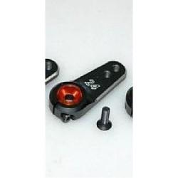 Q-WORLD 00345 24T NEW ALUM CNC SERVO ARM (W/M2.5*8 SCREW)