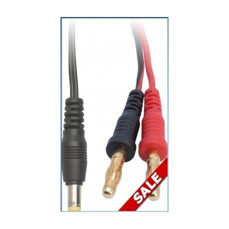 LRP 65842 Cable carga - emisora LRP 5.40mm outer / 2.20mm inner