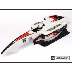 Bittydesign 1/10 F1 TYPE-6C Clear Body Lightweight