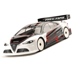 Bittydesign ASCARI 1/10 Touring 190mm Clear Body (Lightweight)