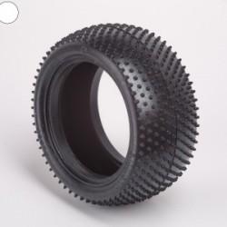 Ballistic 2wd & 4wd White Rear Mini-Pin Tyres