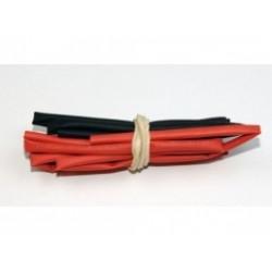 A2P Tubo Termo 5mm Rojo y Negro (2x0,5 mts)