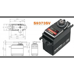 Futaba S9373SV S.Bus2 HV High-Torque & Speed Servo 24.6kg/0.06s