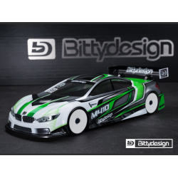 Bittydesign M410 1/10 Touring 190mm Clear Body (Lightweight)