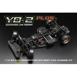 Yokomo YD-2S Plus RWD Drift Car Kit (Graphite Chassis)
