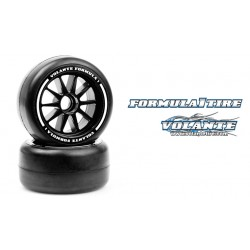 Volante F1 Front Rubber Slick Tires Medium Hard Compound Preglued