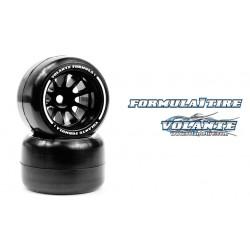 Volante F1 Rear Rubber Slick Tires Asphalt Medium Soft Compound Preglued