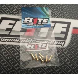 ELITE RC E0901 CONECTOR ORO 4mm (6pcs)