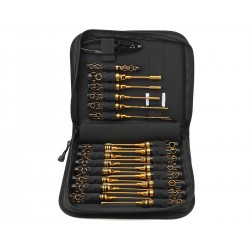 Arrowmax AM-199442 Toolset (23pcs) with Tools Bag Black Golden