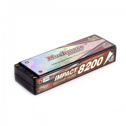 Muchmore IMPACT Max-Punch FD3 Li-Po Battery 8200mAh/7.4V 120C Flat Hard Case