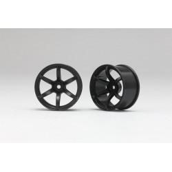 Yokomo Racing Performer Drift Wheel 6 spoke 02 (6mm Offset·White·2pcs)