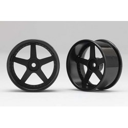 Racing Performer Drift Wheel 5 spoke 01 (8mm Offset·Black·2pcs)