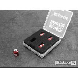 Bittydesign Magnetic Body Post Marker Kit - RED