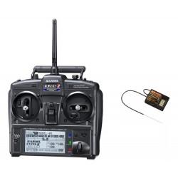 Sanwa Exzes-ZZ Stick Radio + RX-472 Receiver & Charger